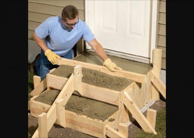 Изработка на стъпала